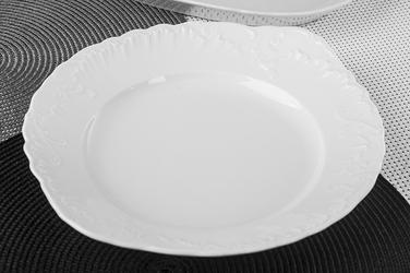 Ćmielów rococo talerz do ciasta 29 cm 0000