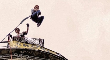 Skok dream jump - warszawa 2 skoki