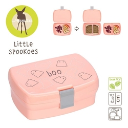 Lassig lunchbox little spookies peach