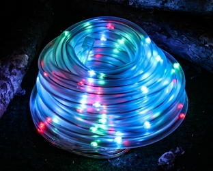 Wąż świetlny solarny 100 led joylight 10 m kolorowy z programatorem 8 funkcji ip44