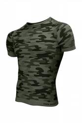 Koszulka męska thermo active military style krótki rękaw khaki sesto senso