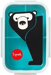 Pudełko na lunch Bento 3 sprouts niedźwiedź