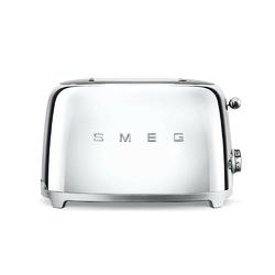 Smeg - toster na 2 kromki - chrom - chrom