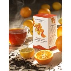 Hampstead | lemon and orange - herbata czarna cytrynowo-pomarańczowa saszetki 250szt. | organic