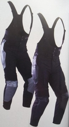 Spodnie tekstylne z szelkami psi tourer