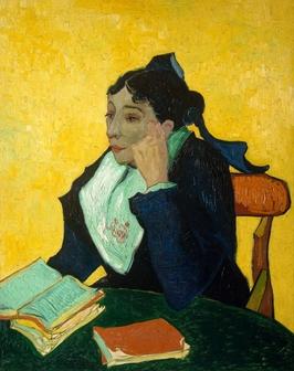 L_arlésienne madame joseph-michel ginoux, vincent van gogh - plakat wymiar do wyboru: 21x29,7 cm