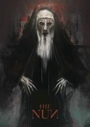 The nun - plakat premium Wymiar do wyboru: 42x59,4 cm