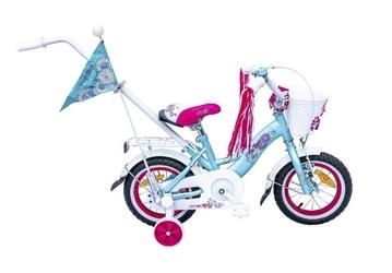 Rower majdller stella mięta-róż- niebieski+ kosz