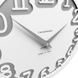 Zegar ścienny labyrinth calleadesign lniany 10-002-11