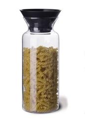Pojemnik kuchenny, czarny, 1400 ml