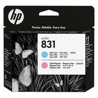 Hp 831 głowica drukująca latex, jasnopurpurowajasnoniebieska