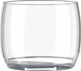 Szklanka ABC 2 szt. Clear
