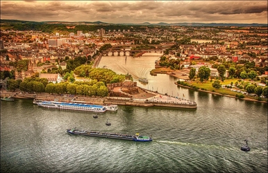 Koblenz – plakat wymiar do wyboru: 40x30 cm