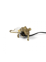 Seletti :: lampa stołowa mouse lop złota
