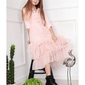 Różowa sukienka tiulowa