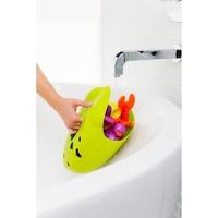 Żaba organizer na zabawki do kąpieli