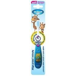 Dr scott szczoteczka z minutnikiem dla dzieci powyżej 3 roku życia x 1sztuka