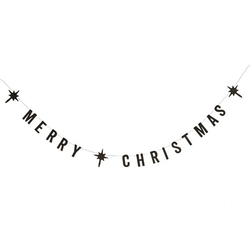 Girlanda papierowa napis merry christmas madam stoltz