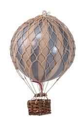 Authentic models balon dekoracyjny- floating the skies, srebrny- kość słoniowa ap160si
