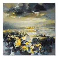 Yellow matter 1 - obraz na płótnie