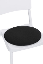 Poduszka na krzesło - czarny
