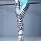 Legginsy damskie labellamafia legging printed