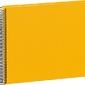 Album na zdjęcia uni economy białe karty średni żółty