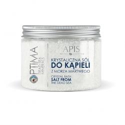 Sól krystaliczna z morza martwego apis optima 500g
