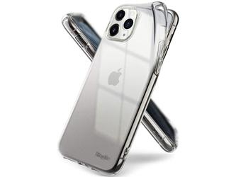 Etui ringke air do apple iphone 11 pro max clear + szkło alogy - przezroczysty