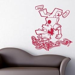 Naklejka ścienna graffiti gr38