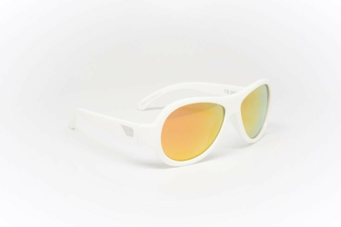 Okulary polaryzacyjne  babiators + etui 3+ wicked white pomarańczowe szkła