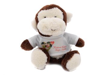 Małpka Walentynki Urodziny Roczek Twój Nadruk