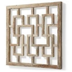 Drewniana dekoracja ścienna lawrence 110x6 cm
