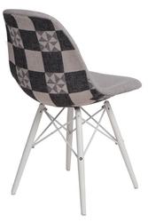 Krzesło p016w pattern szary