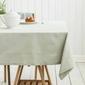 Obrus na stół altom design bawełniany szary  popielaty 110 x 160 cm