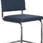 Zuiver :: krzesło ridge vintage niebieskie
