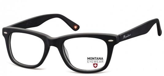 Okulary oprawki optyczne, korekcyjne montana ma83 nerdy  czarne