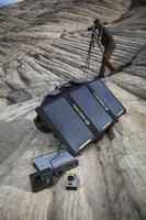 Przenośny turystyczny panel solarny - ładowarka nomad 20 goal zero