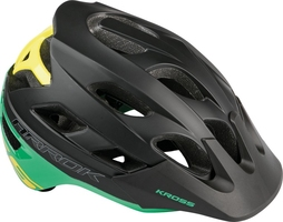 Kask kross enduro arrock zielony