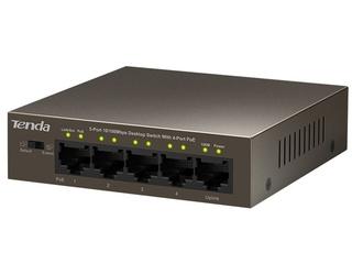 Switch tenda tef1105p-4-63w mocniejszy niż sf1005p - szybka dostawa lub możliwość odbioru w 39 miastach