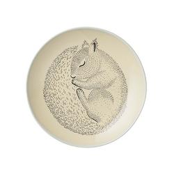 Talerz śpiąca wiewiórka bloomingville