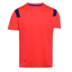 Koszulka męska diadora ss t-shirt run - czerwony