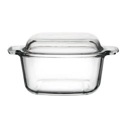 Naczynie do zapiekania żaroodporne z pokrywą altom design vega kwadratowe 1,5 l
