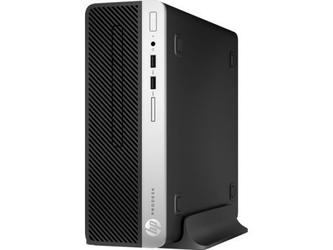 HP Desktop 400SFF G5 i3-8100  500GB  4GB  DVD  Win10P  4CZ82EA
