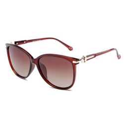 Czerwone okulary przeciwsłoneczne kocie oko drd-04c3