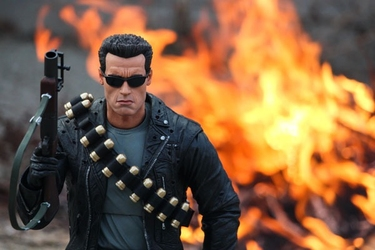 Terminator ver2 - plakat wymiar do wyboru: 40x30 cm