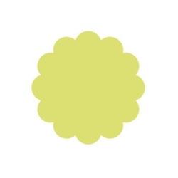 Dziurkacz ozdobny z dźwignią 5 cm- kółko z falbaną - KFA