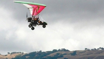 Lot motolotnią dla dwojga - pińczów