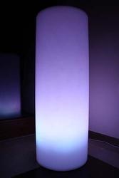 Podświetlany walec tubus 89 cm rgb 16 kolorów