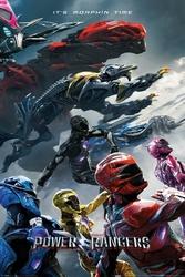 Power Rangers - plakat filmowy